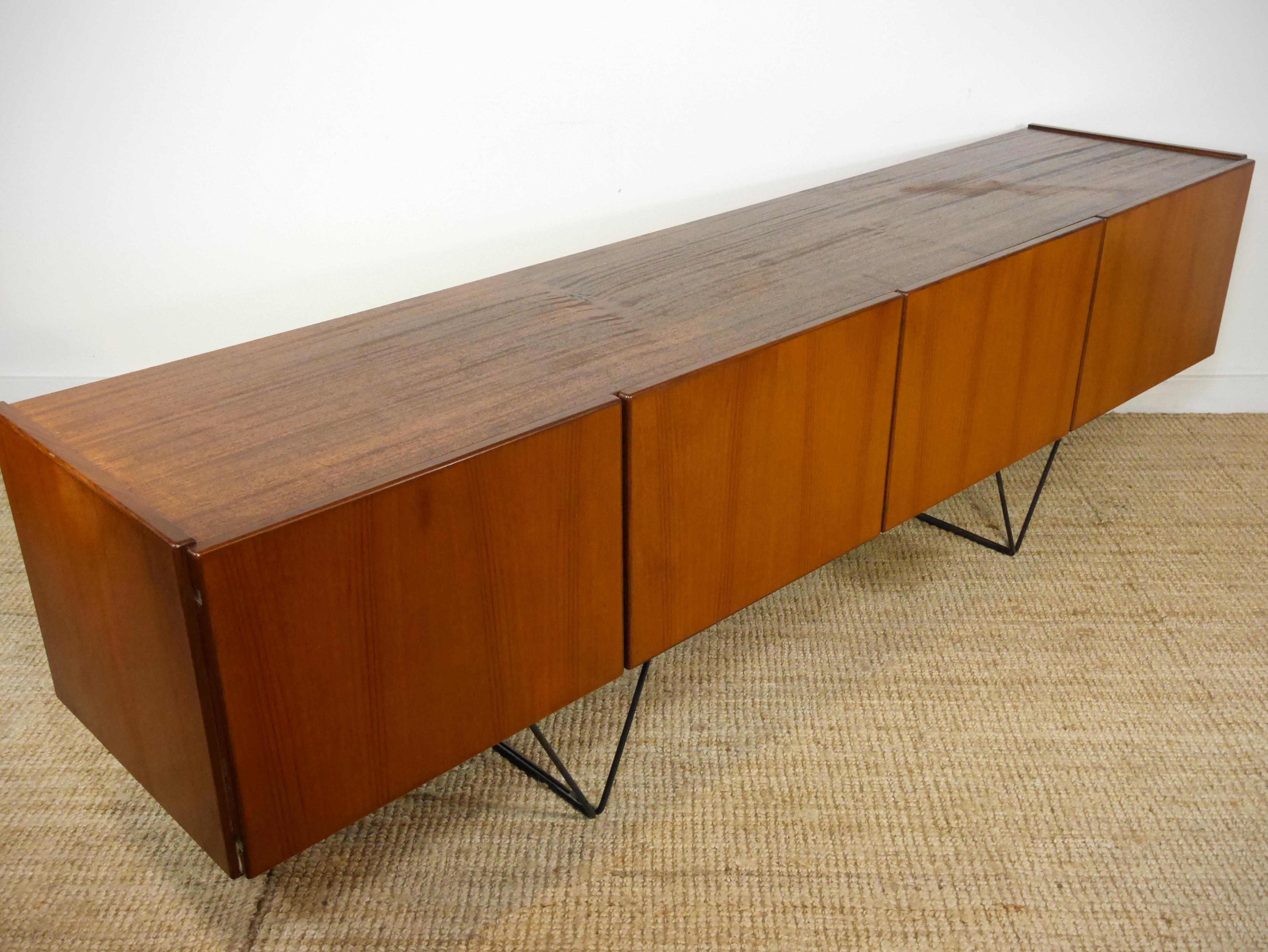 enfilade scandinave design vlegs ann es 50 235 cm jada. Black Bedroom Furniture Sets. Home Design Ideas