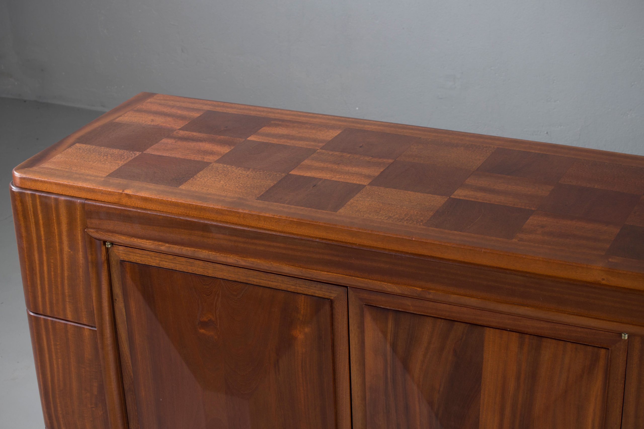 Picture of: Brutalist Solid Mahogany Sideboard France 1940s Jada